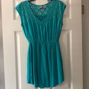 Lightweight turquoise dress (size S)